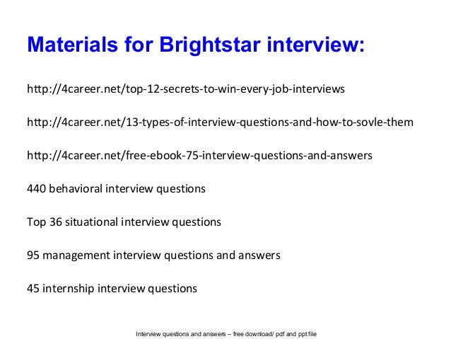 what is the star interview process