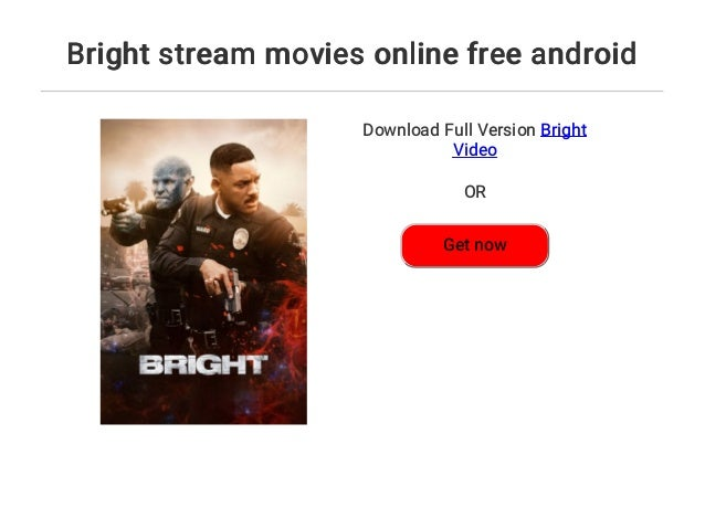 Bright Movie Stream