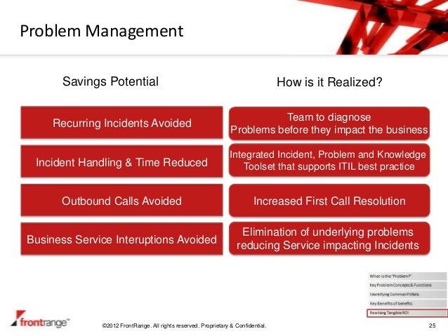 Problem Management: The ROI Of Problem Management