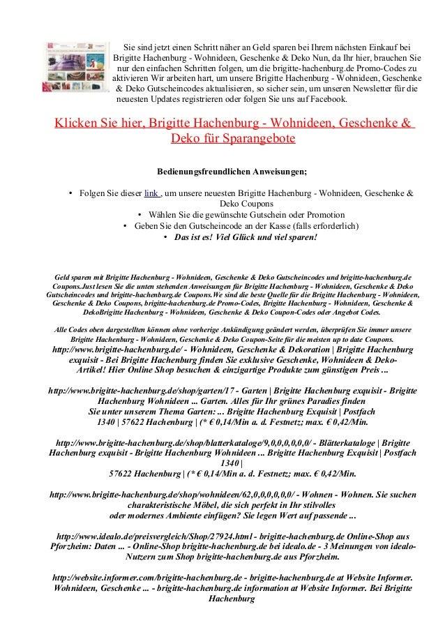 Brigitte Hachenburgde Gutscheincode Rabatt