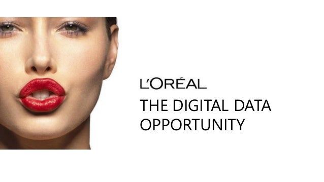 THE DIGITAL DATA OPPORTUNITY