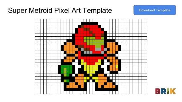 toad pixel art template download template