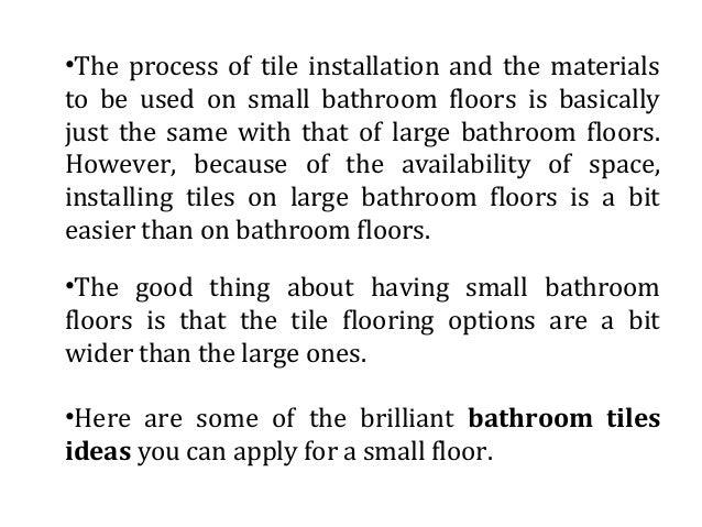 Brilliant Bathroom Tiles Ideas For Small Floors - Bathroom-tiling-ideas
