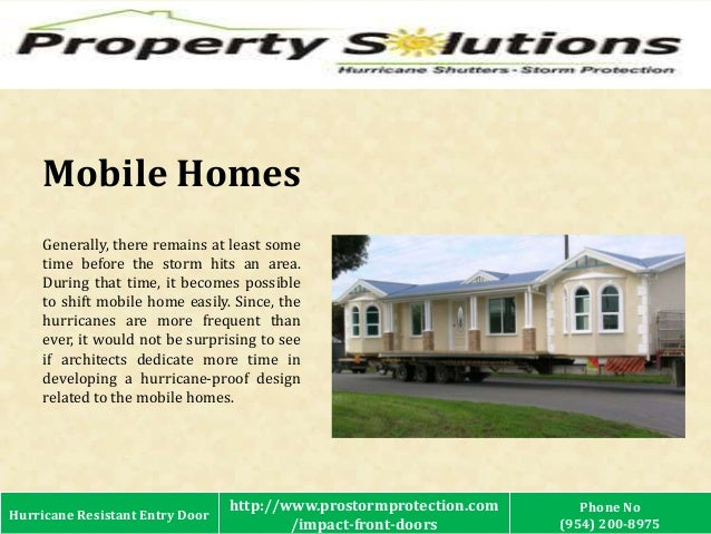 ... 3. Mobile Homes Generally ...