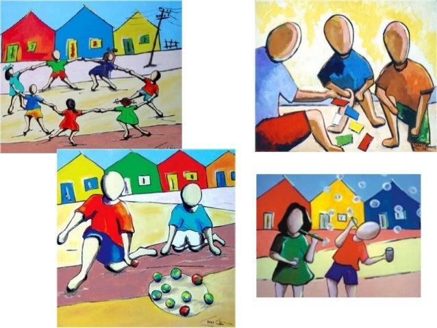 Importância da aprendizagem em situações de interação e em situações lúdicas... Importância do jogo e da brincadeira na ap...