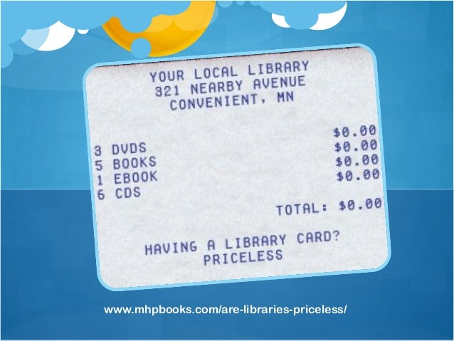 Hillsdale Public LibraryHillsdale, NJwww.facebook.com/HillsdaleLibrary