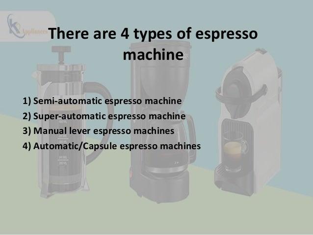 Bring espresso machine & add taste in your life Slide 3