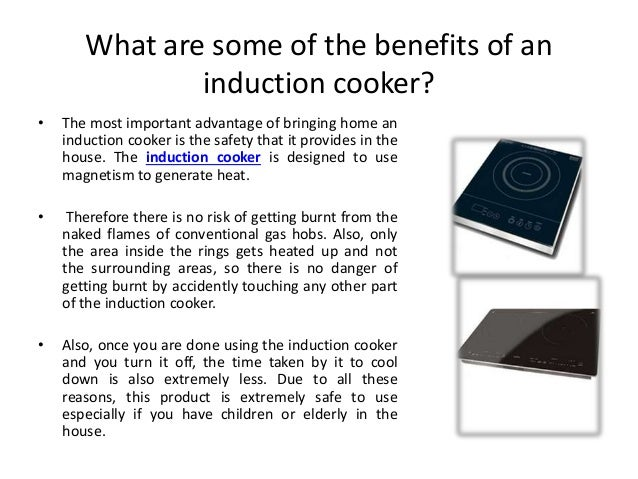 Benefits Of Induction Cooker ~ Bring home the induction cooker and watch your life get easier