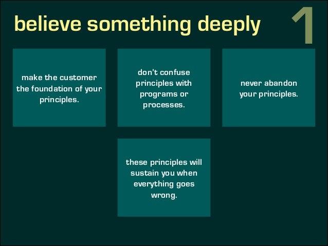 believe something deeplysome of my principles 1