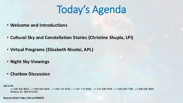 Bringing the Stories of the Skies to Your Library Slide 3
