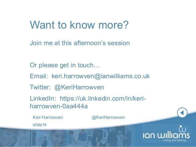 Bringing all our processes together - Keri Harrowven