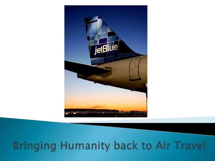 Bringing humanity back in air tavel