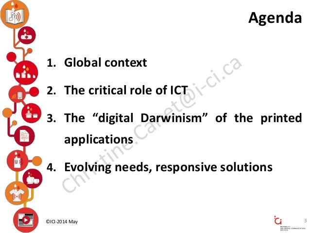 Bringing Intelligence to Everything - ICI - Printability and Graphic Communications Institute, Montreal, QC, Canada Slide 3