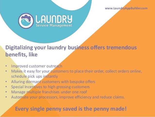 Bringing laundries online Slide 2