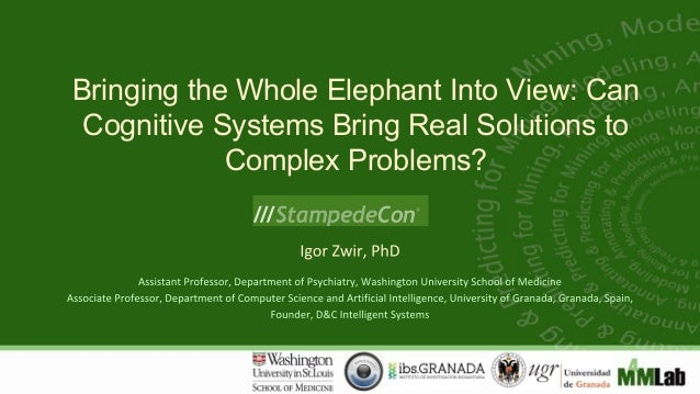 Bringing the Whole Elephant Into View: Can Cognitive Systems Bring Real Solutions to Complex Problems?