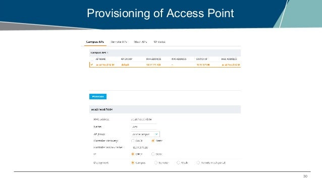 Bringing up Aruba Mobility Master, Managed Device & Access Point