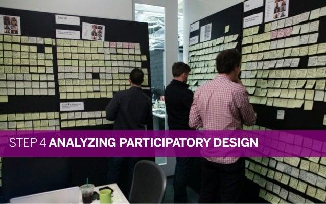 STEP 4 ANALYZING PARTICIPATORY DESIGN