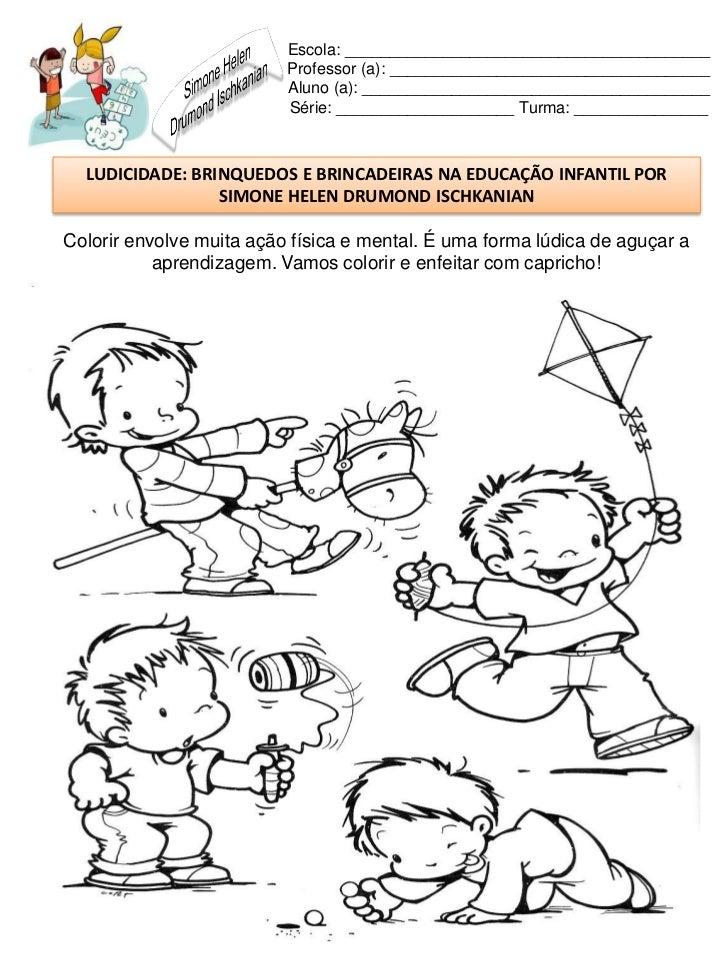Famosos Brinquedos e brincadeiras na educação infantil WZ01
