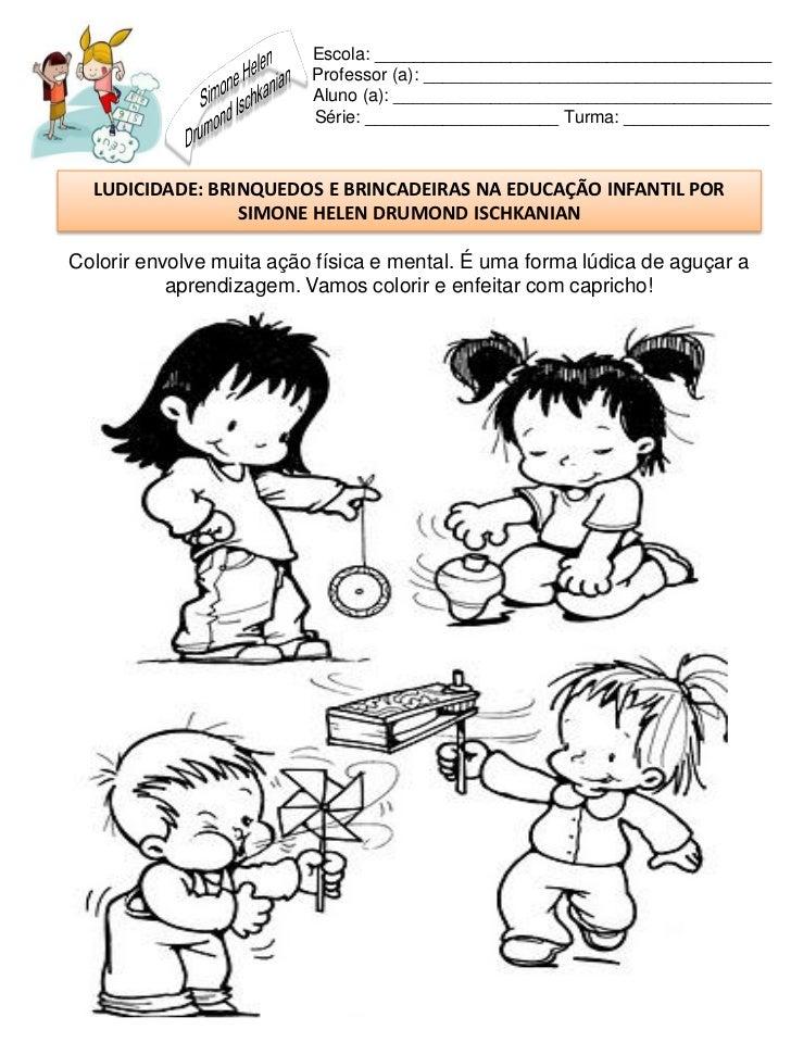 Muito Brinquedos e brincadeiras na educação infantil YN59