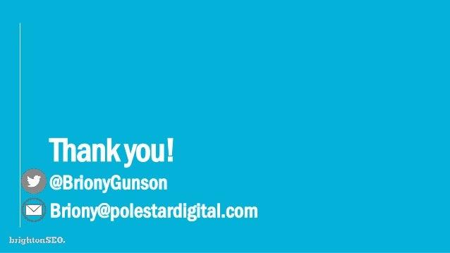 Thankyou! @BrionyGunson Briony@polestardigital.com