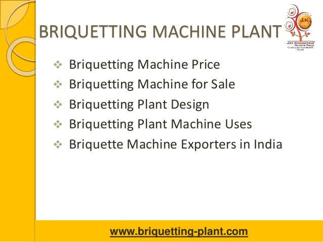 BRIQUETTING MACHINE PLANT  Briquetting Machine Price  Briquetting Machine for Sale  Briquetting Plant Design  Briquett...