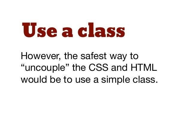 """GuidelinesThe following """"module"""" guidelinesapply regardless of whether youare coming from OOCSS orSMACSS."""