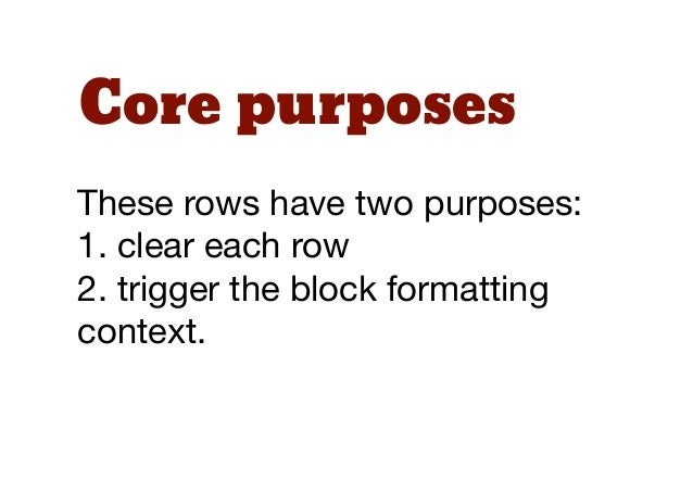 Re-useThen we can write one simple,but very powerful class that canbe reused anywhere in the layout.