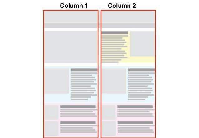 Narrow layout   Class names2 column box    .n-2col1 column box    .n-2col