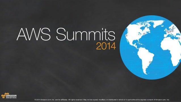 AWS Summit - Brisbane 2014 - Keynote