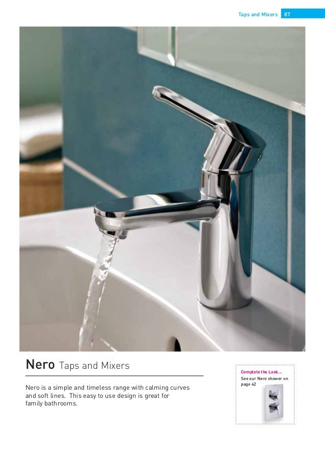 Bristan taps & showers 2014 catalogue