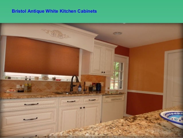 Bristol antique white kitchen cabinets design ideas by - Lily ann cabinets ...