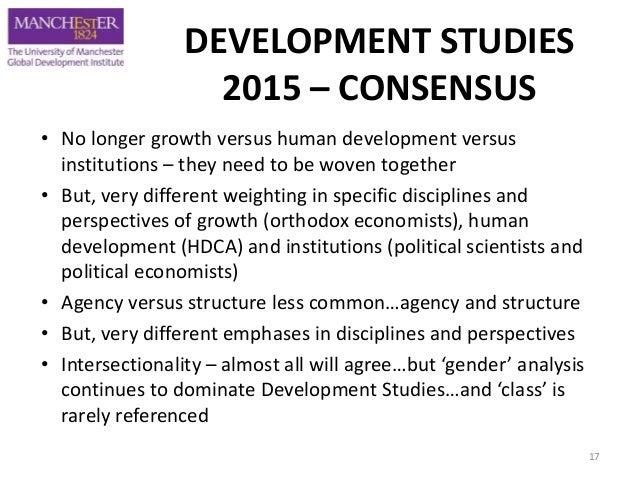 Development studies