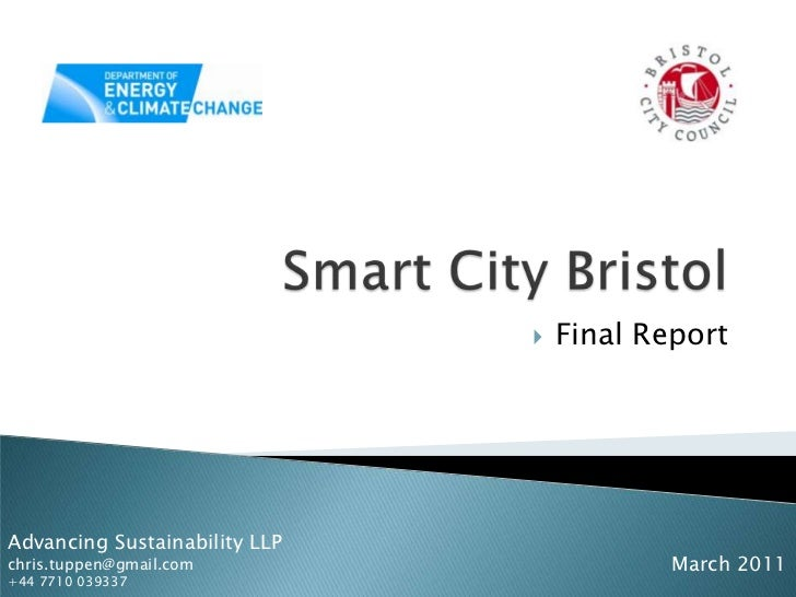 Bristol smart city report