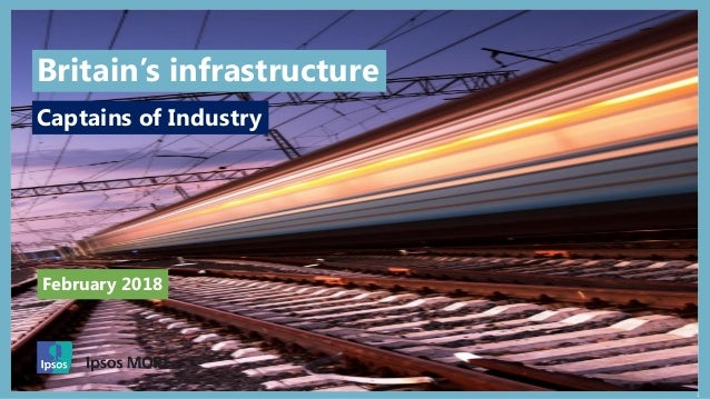 1 February 2018 Captains of Industry Britain's infrastructure