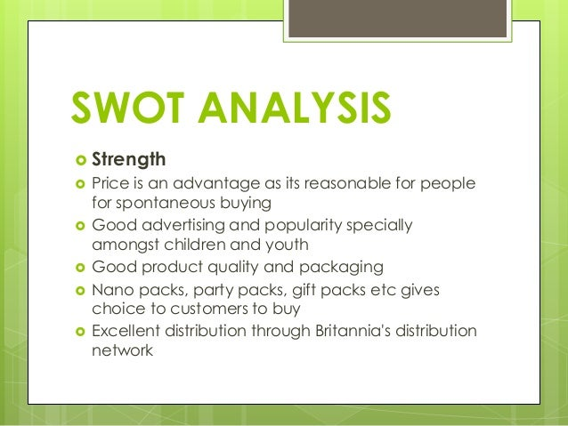 sunfeast swot Sunfeast marie light biscuits from itc are analysed by its swot, stp and competitors.