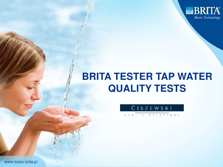 BRITA TESTER TAP WATER QUALITY TESTS<br />