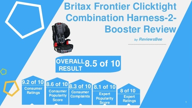 11 Britax Frontier Clicktight Combination Harness 2 Booster Review Expert Popularity Score Consumer Complaints