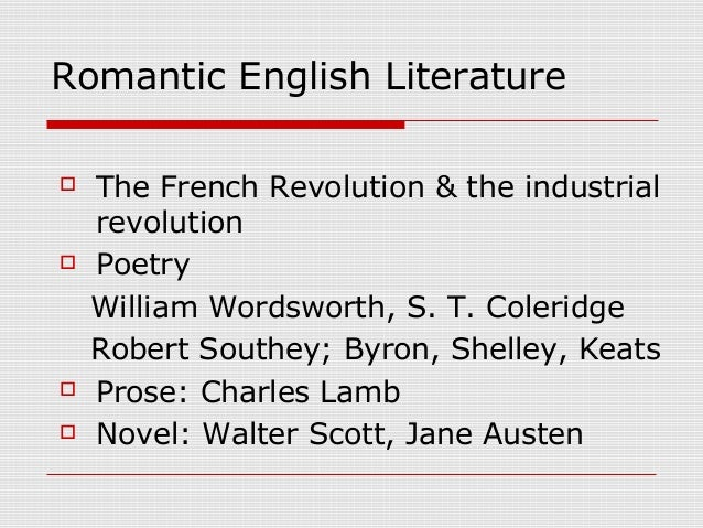 a comparison between milton and pope of the pre romantic and romantic poetry English literature - pre-romantic writers - before the romantic movement burst into full expression there were beginners, or experimenters some of them are great names in english literature.