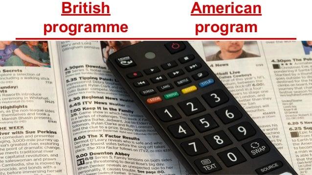 american english vs british english spelling differences pdf