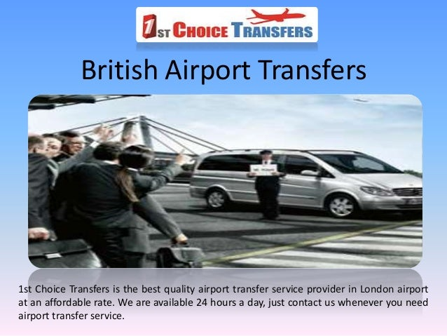 Select Your Cheap British Airport Transfers