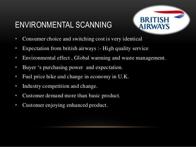 managing change in british airways
