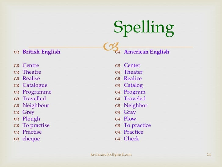Number Names Worksheets month spelling in english : British and American English