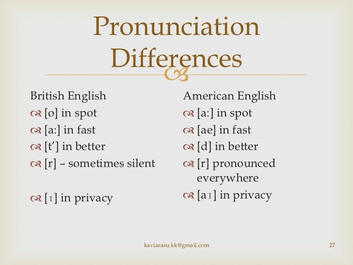 Pronunciation differences between american and australian dating 6