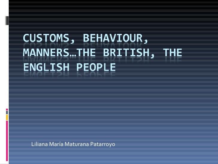 British and english culture behaviour m4hsunfo