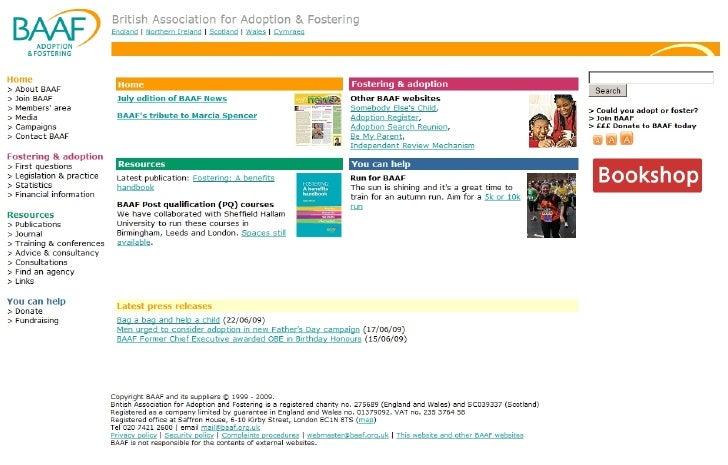 British Association For Adoption & Fostering