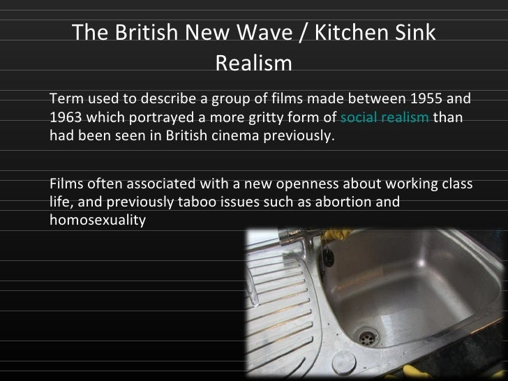 British cinema history - British kitchen sink films ...