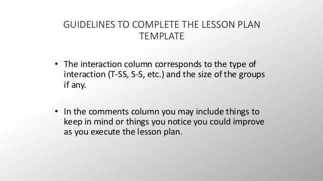 British council resources iii for British council lesson plan template