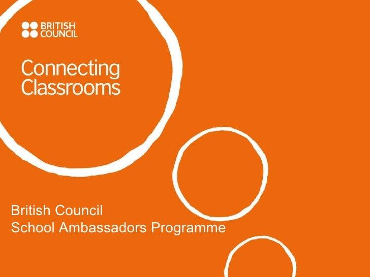British Council  School Ambassadors Programme