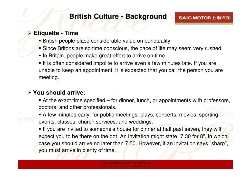 Dating etiquette uk