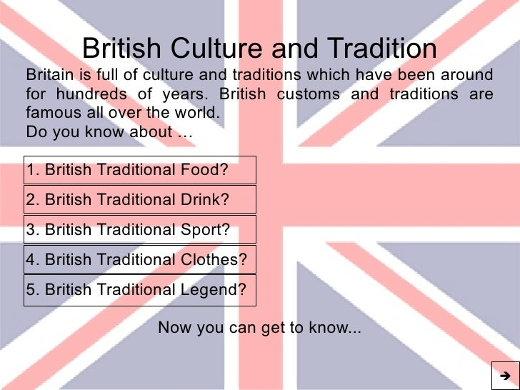 Culture of Great Britain
